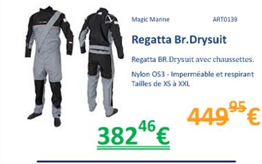Regatte Br. Drysuit